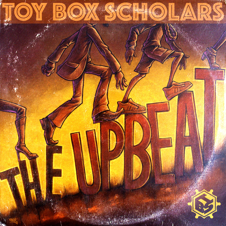 upbeat hip-hop album artwork illustration