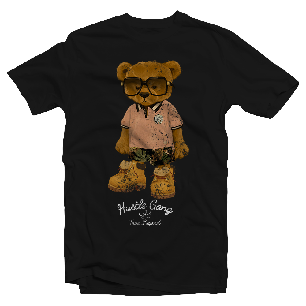 HIP HOP TEDDY BEAR WEARING TIMBERLAND BOOTS